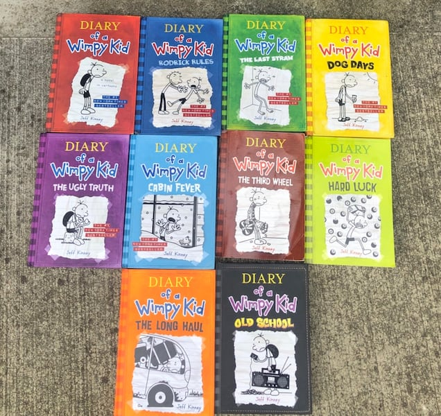 Wimpy kid books great condition like new 3dd06d3a-d70d-4ba3-b99a-55a9199e7be2