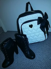 Betsey Johnson designer backpack & Dollhouse Heels Burnaby, V3N 1Z3