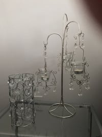 Bling candle holders  Surrey, V3X 0C3