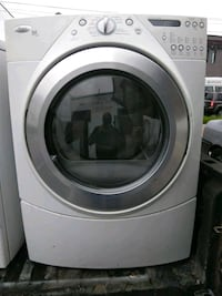 white and gray front-load clothes washer Capitol Heights, 20743