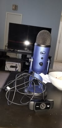 mic and webcam