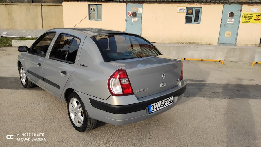 2006 Renault Clio AUTHENTIQUE 1.5 DCI ABS 8