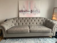 Stylish Gray Sofa  New York, 11238
