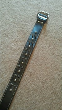 black and brown leather belt High Point, 27265