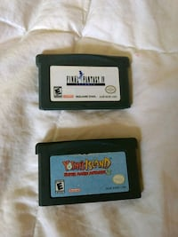 Gameboy games yoshi island and final fantasy Guelph, N1G 3H6