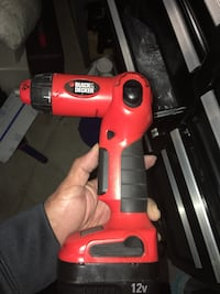 red and black Black & Decker cordless hand drill San Diego, 92114