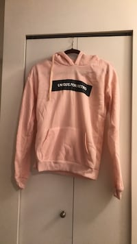 Pink  pullover hoodie Langley, V3A 2C5