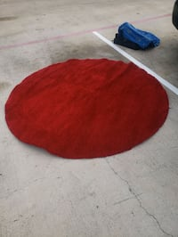 Red rug nice and fat