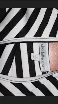 Black and white stripped dress ( large from Charlotte Russe) Elk River, 55330
