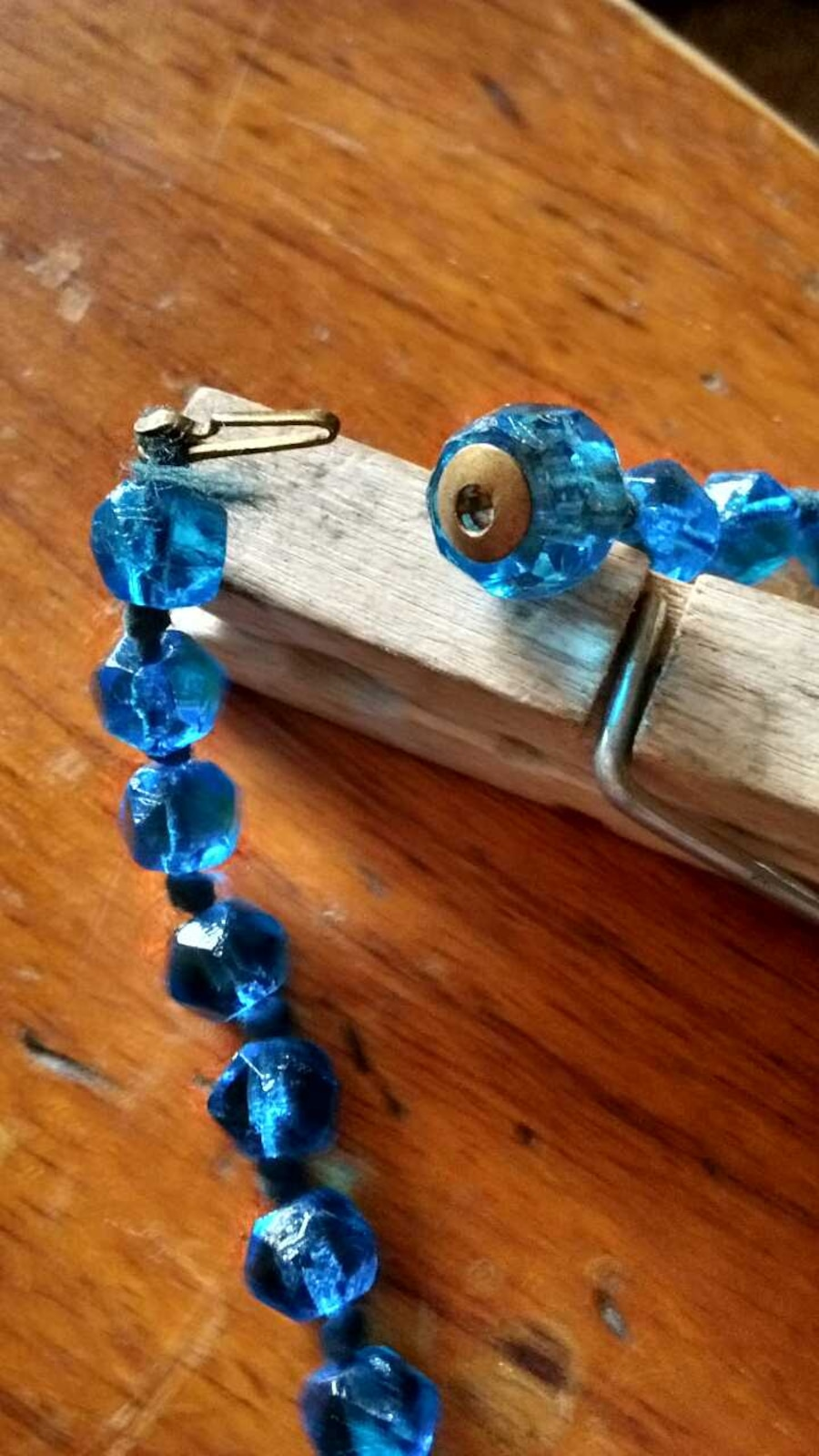Glass beaded necklace - Laughlin