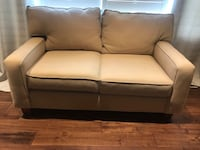 white leather 2-seat sofa Mississauga, L4Y 1K6