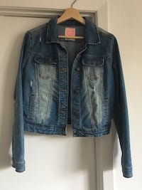 Women Blue denim button-up jacket size medium Montréal, H3H