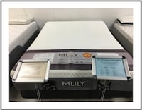 Lap of Luxury Queen Memory Foam Mattress with Adjustable Base Mount Pleasant
