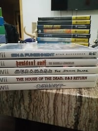 Assorted Wii Games CIB St. Catharines, L2S 1W7