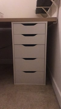 Alex ikea chest of drawers null