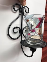 Stained Glass Wall Sconce (pair)