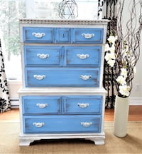GORGEOUS WOOD DRESSER, SHABBY CHIC FURNITURE  Montréal