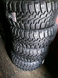 Brent new tires of 4 33x12.50/R20 LT BRAND SUNEW M Cypress, 90630