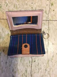 Beige and blue bifold wallet Plainfield, 07062