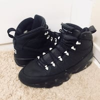 pair of black leather combat boots Burtonsville, 20866