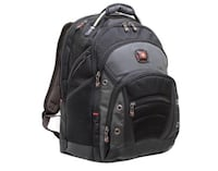 black and gray Swiss backpack Springfield, 22150