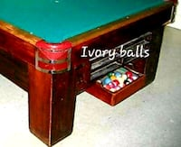 Rare Antique Pool Table  Voorhees Township, 08043