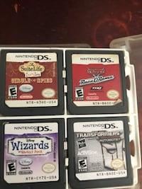 four Nintendo DS game cartridges Mississauga, L4T