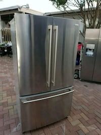 stainless steel french door refrigerator Alvarado, 76009