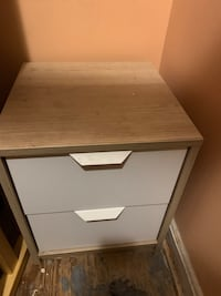 Two two drawer night stands  Capitol Heights, 20743