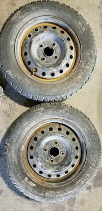 2× Good year winter tires with rims 195 65 R 15