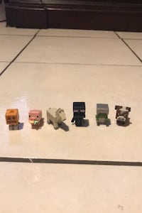 Mincraft mini figures