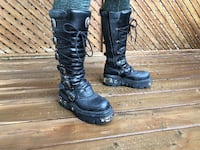 Leather Boots size 42 (10.5 US) 733 km