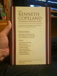Kenneth Copeland Ministries Reference Bible  Las Vegas, 89169