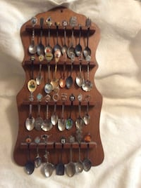 Spoon collection with rack Tampa, 33612