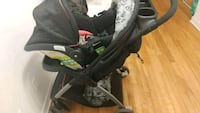 baby's black and gray stroller Montréal, H8S 1K9