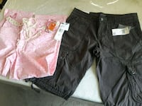 Woman's Ankle pants and shorts size 8 Irvine, 92620