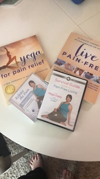 Pain free yoga books and videos never used Wilsonville, 97070