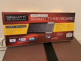 Gravitti Wireless Keyboard