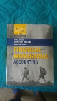 GREAT- Financial Managerial Accounting CSN, Author North Las Vegas, 89030