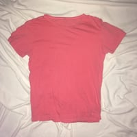 red crew-neck t-shirt Surrey, V3W 0L9