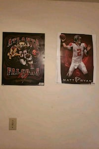Falcons poster and fat head Cumming, 30041