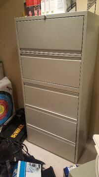 Gray Filing Cabinet