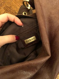 black and brown leather bag Vaughan, L4L 8H4