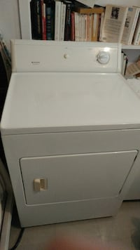 white front load clothes dryer Laval, H7C 1P2