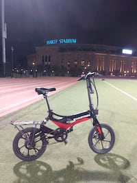 red and black foldable electric bike New York, 10032
