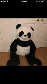 LARGE PANDA STUFFED ANIMAL BEAR Waterloo