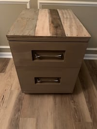 """File cabinet /side table/nightstand 23"""" x 18""""x26""""h Suffolk, 23435"""