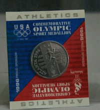 2-1996 Olympic Coins $1.00 each Hyattsville, 20781
