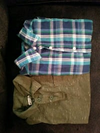 2 BOYS SHORT SLEEVE SHIRTS
