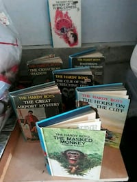 Hardy Boys original books 1970, 72 McHenry